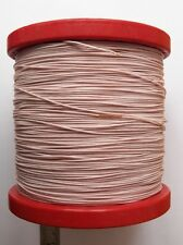 0.35mm2 22AWG ex-USSR Copper Teflon PTFE Wire MGTF QTY=20m ~66ft