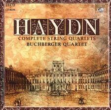 BUCHBERGER QUARTETT - HAYDN: COMPLETE STRING QUARTETS 23 CD NEU HAYDN,JOSEPH