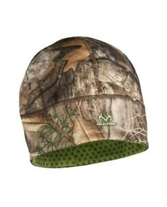 *NEW* Realtree Edge Camo Youth Heat Retention Hunting Beanie Hat One Size