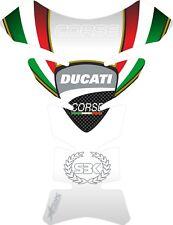 Protector de deposito gel Ducati White Edition Corse , Ducati  tankpad Corse