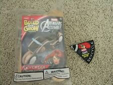 New Lowe's Build and Grow Black Widow Sky-Cycle Marvel Avengers Nip w/ Patch