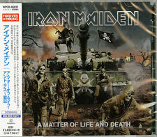 IRON MAIDEN-A MATTER OF LIFE AND DEATH-JAPAN CD C68