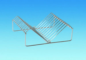 Wire Plate Rack – Chrome Plated Holds up to 10 plates.S Caravan Motorhome Camper