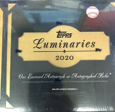 2020 TOPPS luminarias de béisbol caja sellada de fábrica una tarjeta revestido