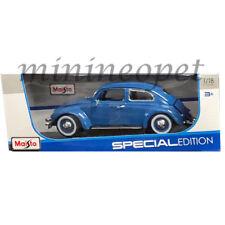 MAISTO 31705 SPECIAL EDITION VW VOLKSWAGEN BEETLE KAFER 1/18 DIECAST BLUE