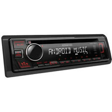 Autoradio Stereo Kenwood KDC-130UR USB Mp3 1 DIN Nero Rosso CD CD-R