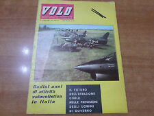 VOLO n.4 del 1964 Mensile di vita aeronautica Aero Club Italia