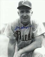 Jim Greengrass 1955 1956 Philadelphia Phillies Signed Autographed 8x10 Photo COA