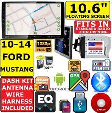 "10-14 FORD MUSTANG 10.6"" NAV TOUCHSCREEN CD/DVD/USB BLUETOOTH CAR RADIO STEREO"