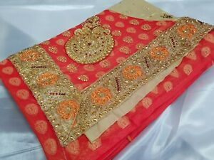 Bollywood Saree Sari Indian Designer Wedding Fancy Party Wear Ethinic