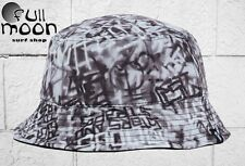 New Famous Stars & Straps Mens Writer Allover Reversible Bucket Hat