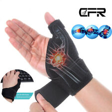 Hand Wrist Thumb Brace Support Gloves Palm Carpal Tunnel Arthritis Compression