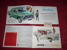 N°4508 / AUSTIN  A60 Cambridge  catalogue english text   berline    1968 environ