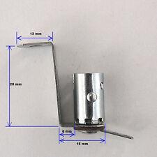 Miniature Bayonet Bulb Holder Lamp Socket Metal Bracket Ba9S Base Ex. #47 Bulbs