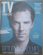 Benedict Cumberbatch - Sherlock – TV magazine – 28 December 2013