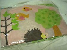 NEW HOOT OWLS/TREES/BIRDS/NATURE KIDS Bedding FULL BED SKIRT&2 STANDARD SHAMS