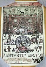 FANTASTIC MR FOX art Poster print Logan Theater Chicago variant David Welker