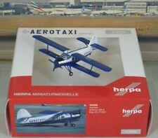 "Herpa Wings Aerotaxi ""Cuba"" Antonov AN-2 1/200"