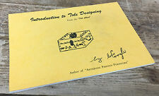 Introduction to Tole Designing From Tole Chest Lois Coogle Pamphlet Antique Book