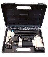 "Brand New 1"" Brad Air Nailer Gun 3/8"" - 1/4"" 18 Gauge Stapler Framing Brad Nails"