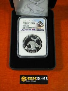 2018 $2 AUSTRALIA WEDGE TAILED SILVER EAGLE NGC NGC PF70 PIEFORT 2 OUNCE