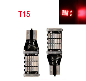 Parking Light T10 T15 168 194 2825 12961 LED Red Canbus Bulb K1 For Mini K