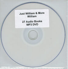 Just William & More William - 27 Audio Books MP3 DVD