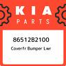 86512B2100 Kia Coverfr bumper lwr 86512B2100, New Genuine OEM Part