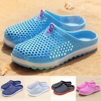 Women Men Summer Slippers Beach Shoes Hollow Sandals-Bath Breathable Flip Flops