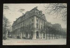 France PARIS Majestic Hotel Avenue Kleber 1911 PPC