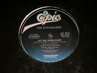 """The Stranglers~Let Me Down Easy~1985 12"""" PROMO COPY~FAST SHIPPING!"""