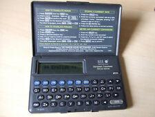 Seiko European Translator Deluxe Edition SII TR-3000 Manual Eng Ger Spa Fre Ita