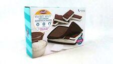 Chef'n 107-821-251 Sweet Spot  Ice Cream Sandwich Maker, Silicone, Brown