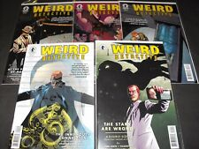 WEIRD DETECTIVE 1-5 DARK HORSE COMIC SET RUN 1 2 3 4 5 TOTAL COMICS