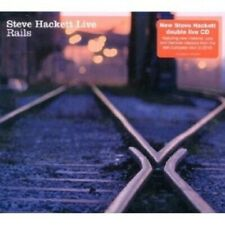"STEVE HACKETT ""LIVE RAILS"" 2 CD NEU"