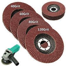 115mm/4.5'' Flap Wheels Grinding Sanding Discs 40/60/80/120 Grit Angle Grinder !