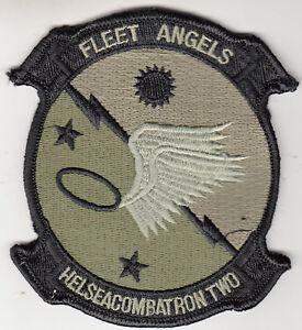 HSC-2 FLEET ANGELS OD GREEN COMMAND CHEST PATCH