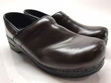 Dansko Men Professional Clogs Shoes Size 47  US 13.5 - 14 Brown Leather
