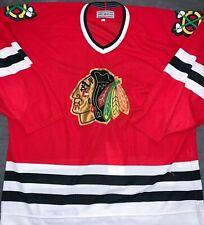 Chicago Blackhawks Rare CCM Center Ice (pre-nike) size 52 Red Vintage Jersey