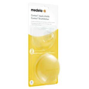 Medela Contact Nipple Shields Medium 2 pack