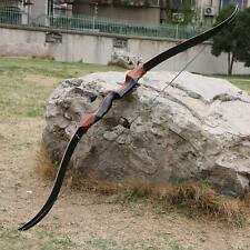 Takedown Recurve Bow 58'' 40lbs Wooden Riser Laminated Limbs Longbow Archery New