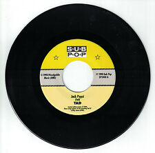 "TAD Jack Pepsi b/w Plague Years 7"" Sub Pop limited edition PROMO"