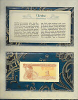 *Most Treasured Banknotes Ukraine 1991 1 Karbovanets UNC P-81a