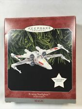 Hallmark ornaments 1998 X-wing Starfighter