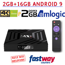 Android 9.0 Smart Tv Box 4K Ultra HD Media Player Wifi Quad Core  Netfli 2GB/16G