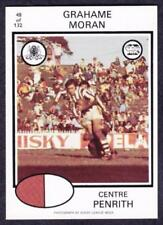Penrith Panthers 1975 Season NRL & Rugby League Trading Cards