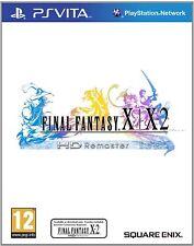 Final Fantasy X/X-2 HD Remaster PS Vita Playstation Video Game Original UK Rele