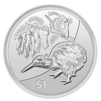 Neuseeland 2012 Kiwi Treasures 1oz Silber Kapsel