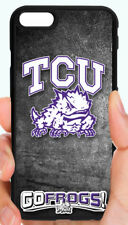 TCU HORNED FROGS COLLEGE PHONE CASE FOR iPHONE XR XS MAX X 8 7 6S 6 PLUS 5C 5S 4