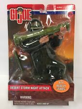 "2001 Hasbro 12"" Desert Storm Night Attack - AT4 ""fires"" - ALPHA New (7GI197)"